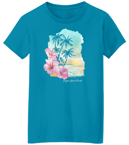 Sunset Beach Short Sleeve T-Shirt