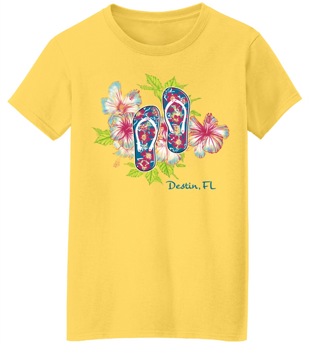 Flip Flop Fun Short Sleeve T-Shirt