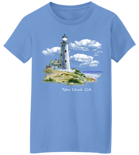 Lighthouse Ray Short Sleeve T-Shirt