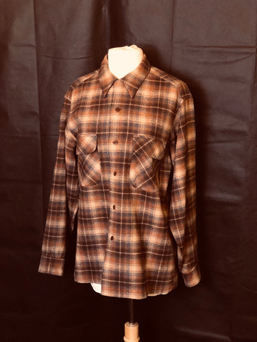 Vintage Mens Flannel