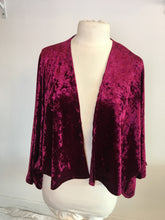 Load image into Gallery viewer, Life Co. Velvet Kimono - Wine