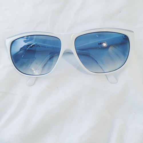 Vintage Sunglasses - White
