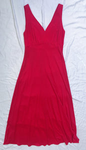 Vintage Dress 2 Piece - Red