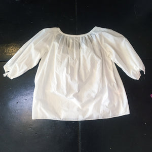 Vintage Shirt Peasant - White