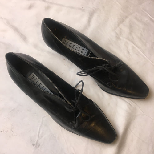 Vintage Nickels Heels - Black