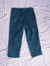 Load image into Gallery viewer, Boys Don't Cry Pants Cropped Dickies - Green