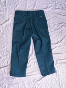 Boys Don't Cry Pants Cropped Dickies - Green