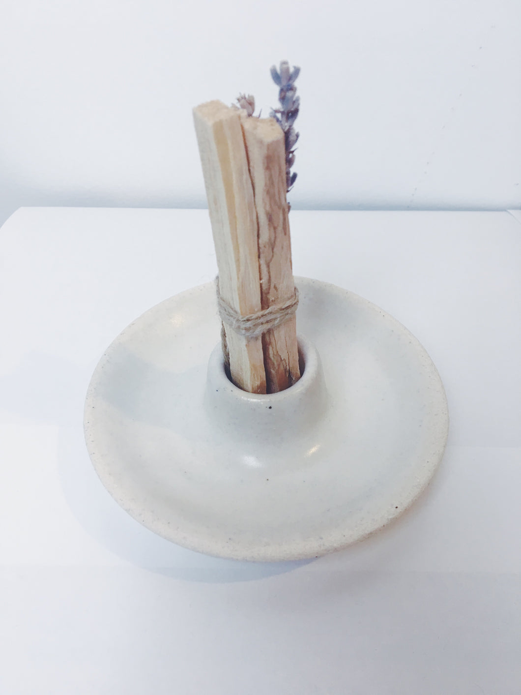 Playa Round Palo Santo Holder