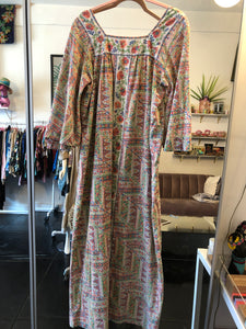70's Nightgown Floral