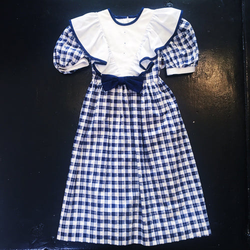 Vintage Nieman Marcus Dress - Blue/White