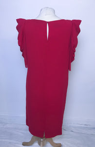 Vintage Dress Silk - Red