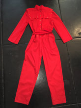 Load image into Gallery viewer, Vintage Jumpsuit - Red
