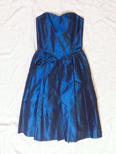 Load image into Gallery viewer, Vintage Dress - Blue