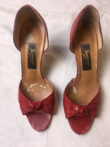 Vintage Fiammante Shoes