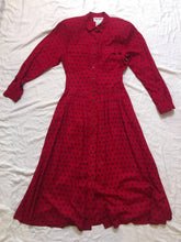 Load image into Gallery viewer, Vintage Maggy London Dress - Red