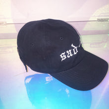 Load image into Gallery viewer, Boys Don't Cry Sad Boy 5 panel Hat - Black