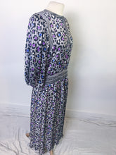 Load image into Gallery viewer, Vintage Diane Freis Dress - Leopard