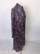 Load image into Gallery viewer, Vintage Encore Dress Sheer Silk Floral