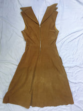 Load image into Gallery viewer, Vintage Dress Corduroy - Gold