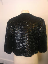 Load image into Gallery viewer, Vintage Jacket Sequin - Black