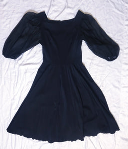 Vintage EL Placio Del Herrea Dress Nylon - Black