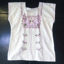 Load image into Gallery viewer, Vintage Blouse Flower Embroidered
