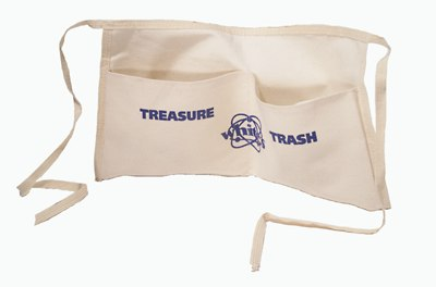 Whites Treasure Hunt Apron