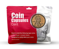 Cent Coin Capsule Pack