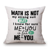 Decorative Colorful Motivational Pillow/Cushion Cover