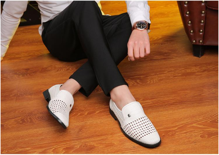 2019| New Summer Men's Genuine Leather Shoes