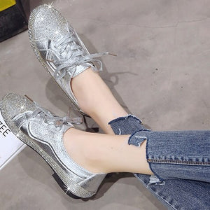 Luxury diamond women shoes