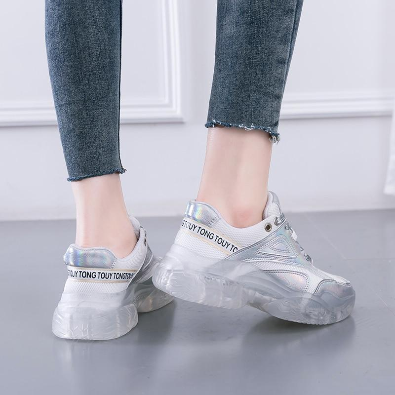 New Arrival! Fashionable Thick Sole Sneakers