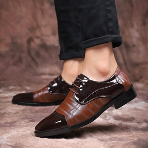 Men's Oxford Genuine Leather Business Shoes
