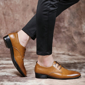 Men's Oxfords Formal Dress Leather Shoes