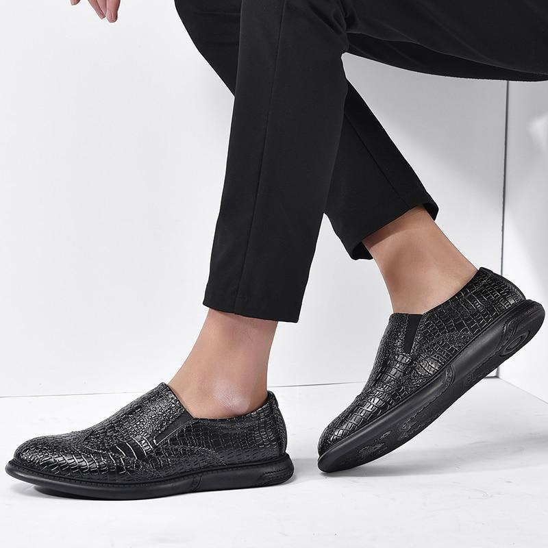 Men's Luxury Business Dress Pointy Loafers