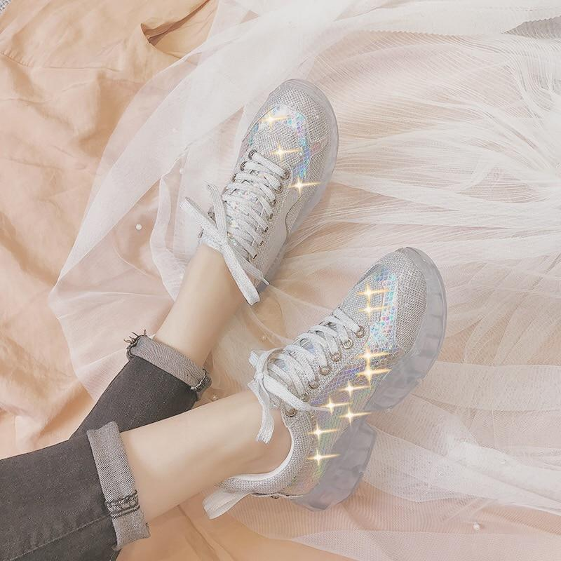 Women's Crystal Breathable Sneakers