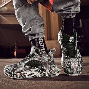 Rogue™ X2 Graffiti High Top Chunky Sneaker