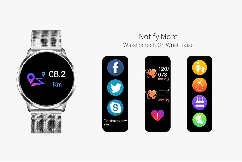 OLED Color Screen Smartwatch