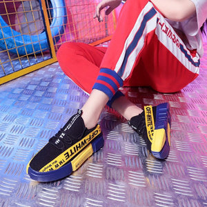 2019| Women Casual Fashion Sneakers Mixed Colors Shoes