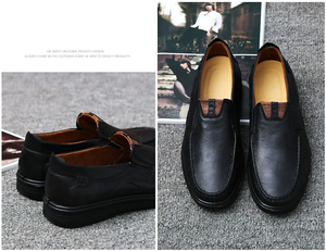Men's Casual Leather Loafers