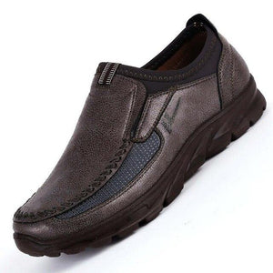 Mens Faux Suede Loafers