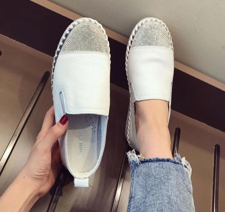 Woman Leather Moccasins