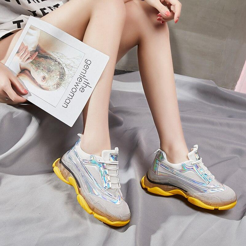 Women Crystal Sneakers
