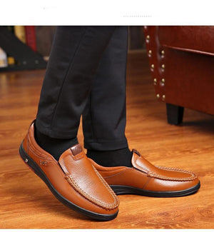 Men Casual Leather Shoes