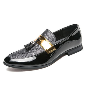 Men Flat Leather Casua Shoes