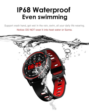 New Waterproof Multi-function Sports Smartwatch With ECG Heart Rate Monitor