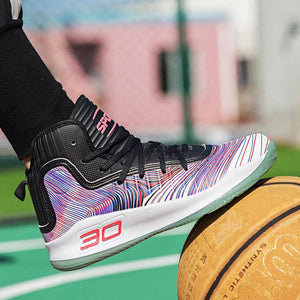 Men's Cushioning Light Basketball Sneakers