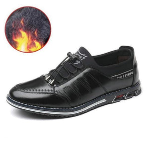 Men Genuine Loafers Moccasins