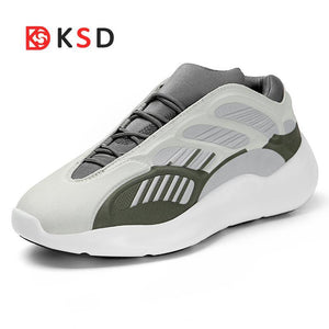 New Running Shoes Men Light Weight Couples Breathable Soft Jogging Walking Womens Outdoor Sports Shoes For Male Chunky Sneakers