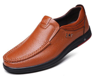 Man Genuine Leather casual Shoes